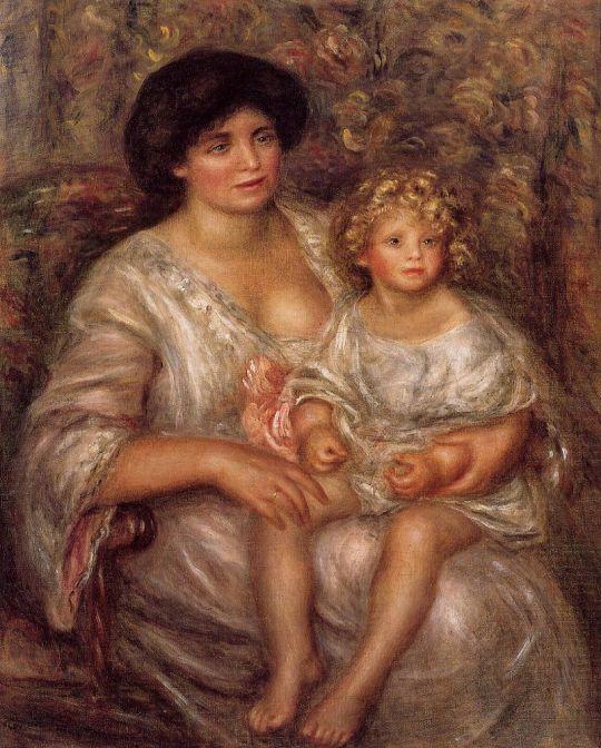Мадам Зенейссен с дочерью