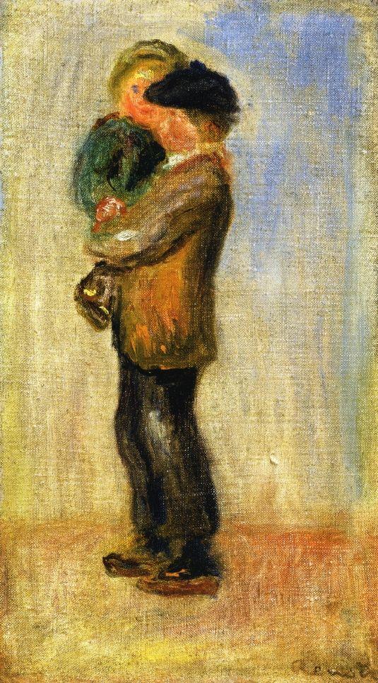 Мужчина с мальчиком в руках