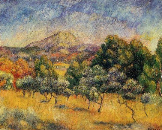 Гора Сент-Виктуар