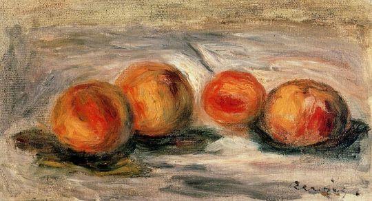Персики и миндаль