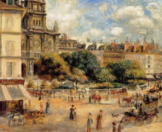 Площадь де ля Тринит
