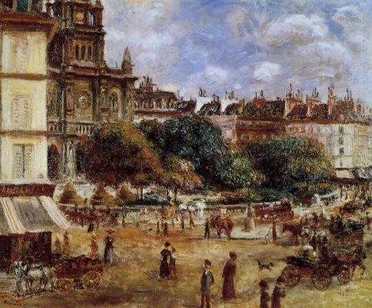 Площадь де ля Тринит, Париж