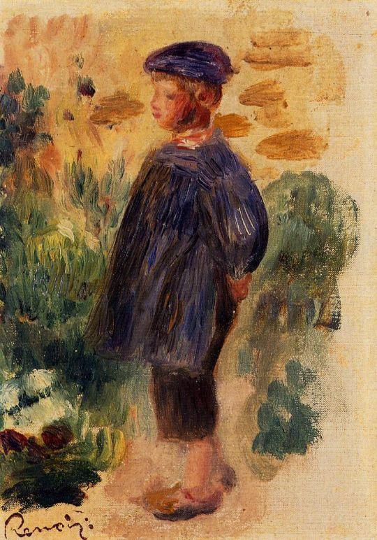 Портрет ребенка в берете