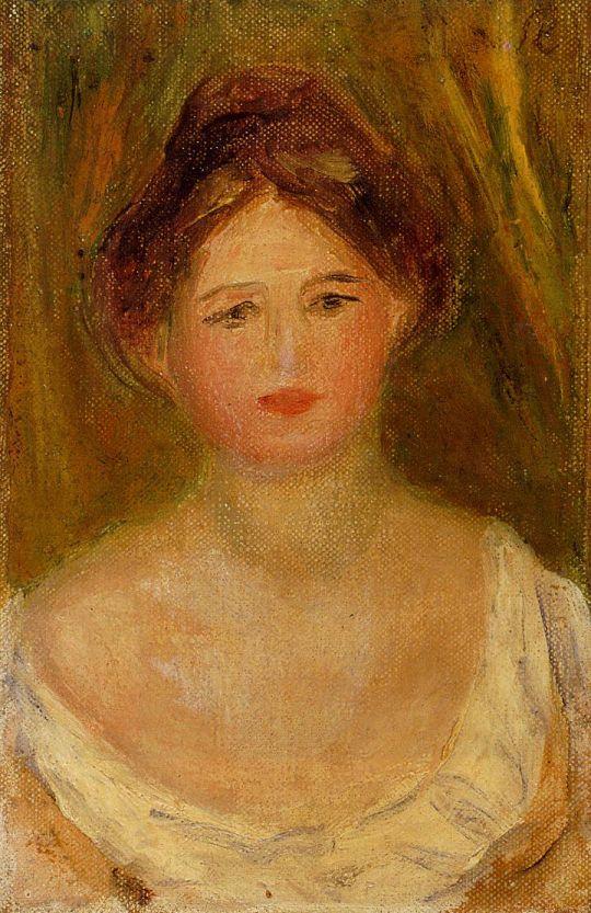 Портрет женщины в красном платье