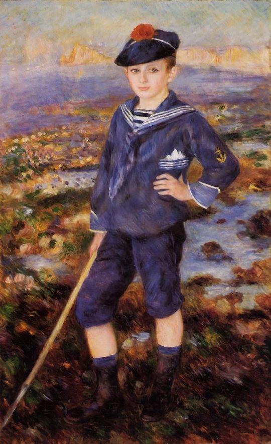 Юный моряк (также известная как Портрет Роберта Нуньес)