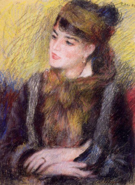 Эскиз женщины, в честь Эдипа