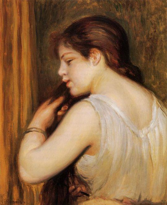 Прическа (также известная как Девочка, расчёсывающая волосы)