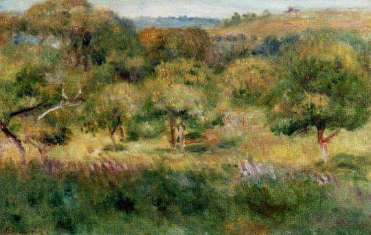 Опушка леса в Бретани