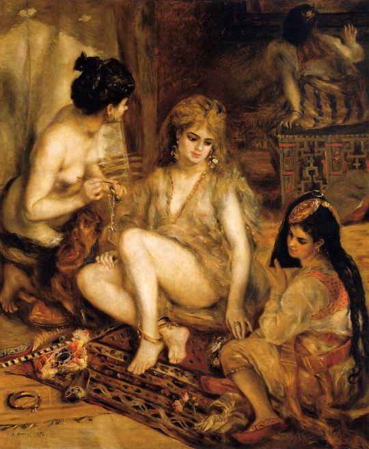 Гарем (также известная как Парижанки, отдетые как алжирки)