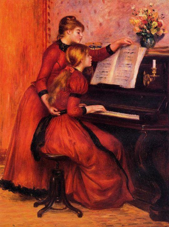 Урок фортепиано