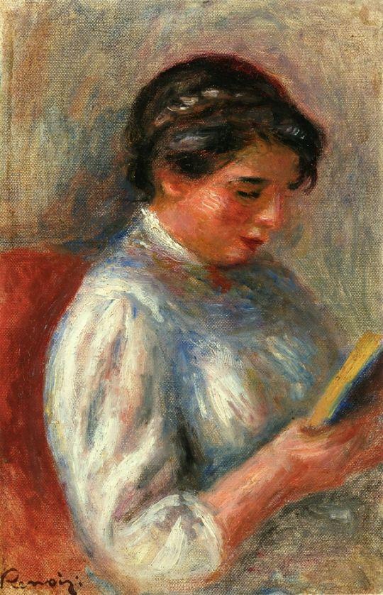 За чтением