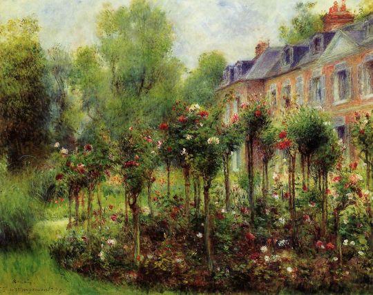 Сад из роз в Веджемонте