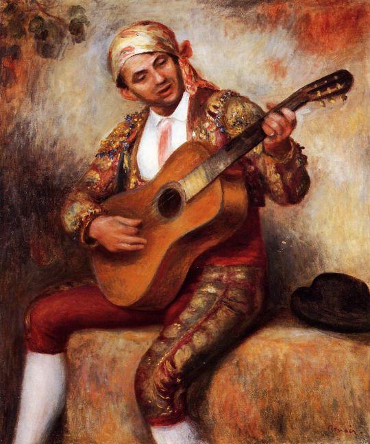 Испанский гитарист