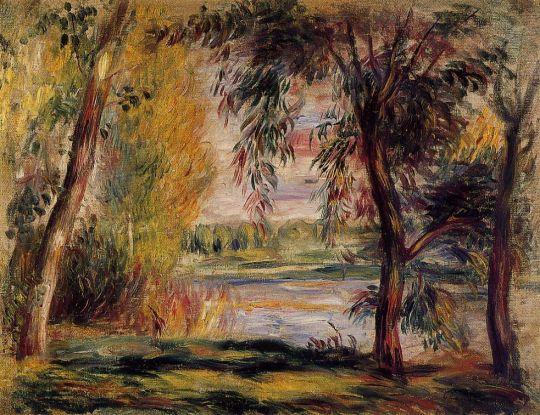 Деревья рядом с водой