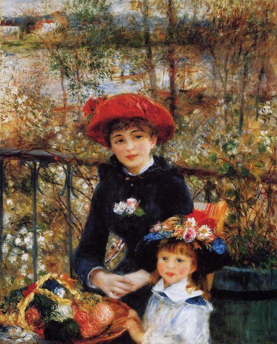 Две сестры (также известная как На террасе)