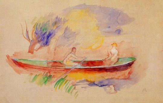 Две женщины в лодке