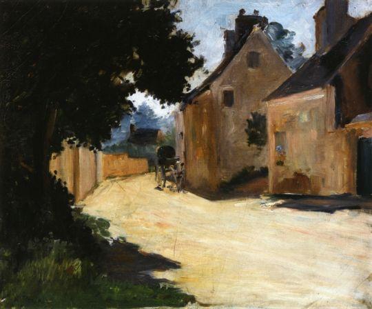 Деревенская улица, Лувесьен