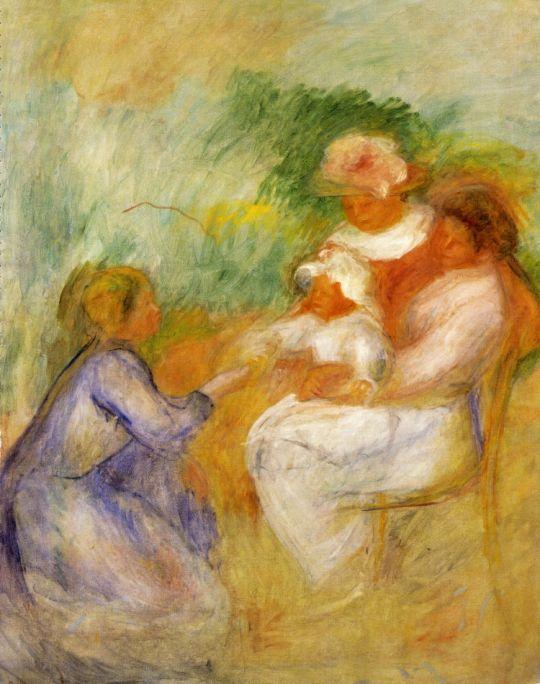 Женщины и ребёнок
