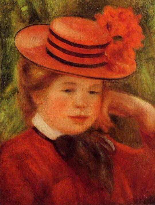 Девочка в красной шляпке
