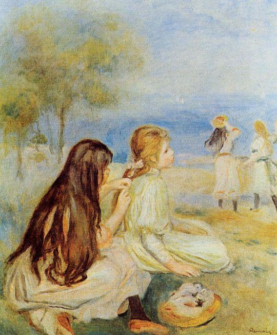 Девочки у моря