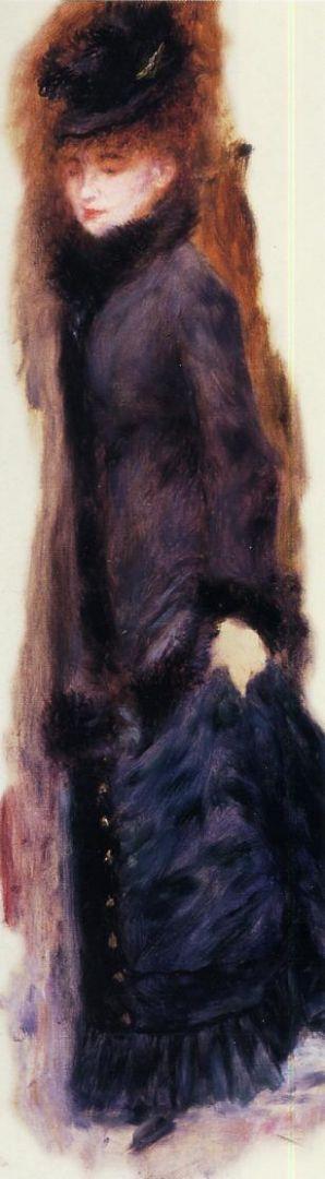Девушка с приподнятой юбкой