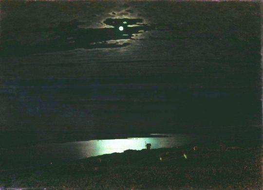 Лунная ночь на Днепре.