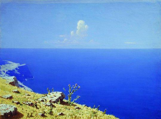 Море. Крым.