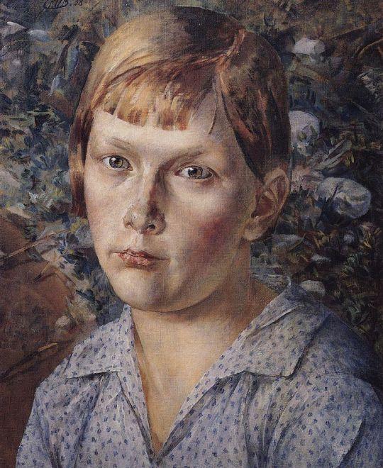 Девочка в лесу.