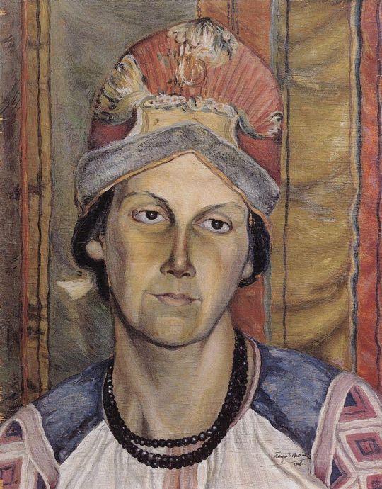 Женский портрет (Портрет неизвестной).