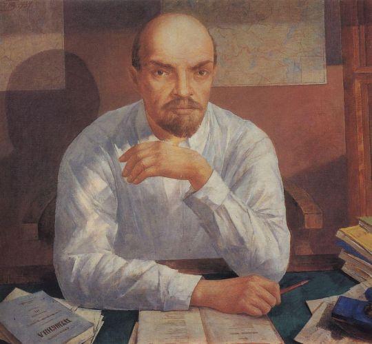 Портрет В.И.Ленина.