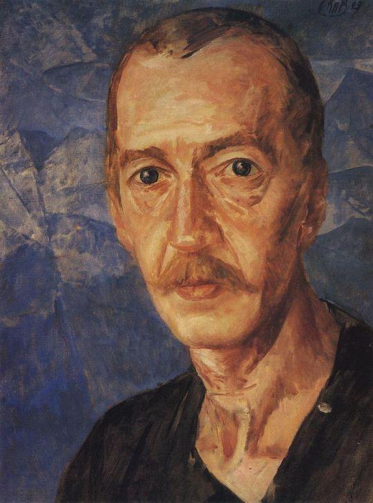 Портрет С.Д.Мстиславского.