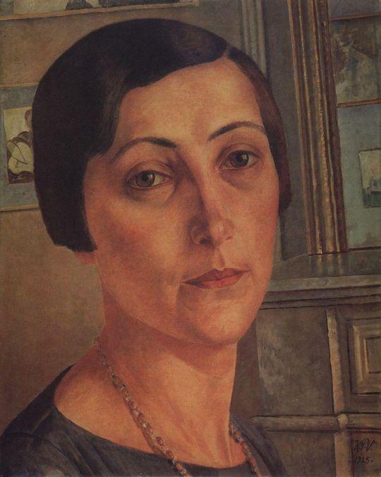 Портрет С.Н.Андрониковой.