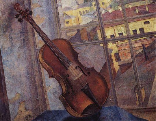 Скрипка.