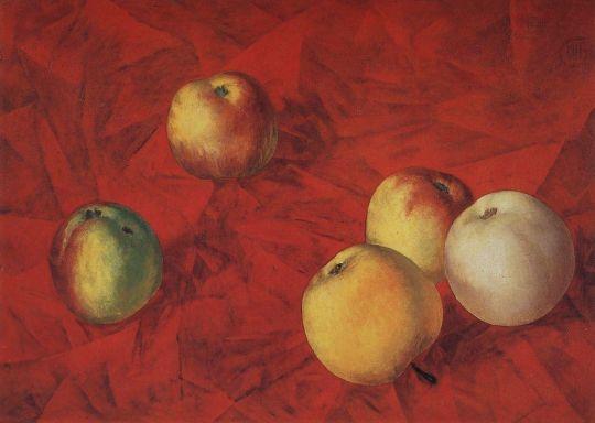 Яблоки.