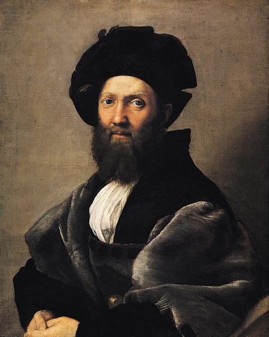 Портрет графа Бальдассаре Кастильоне