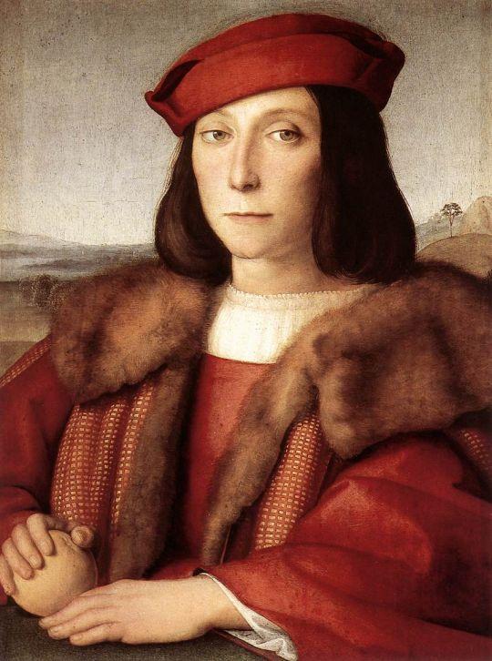 Портрет Франческо Мария Делла Ровере (портрет юноши с яблоком)