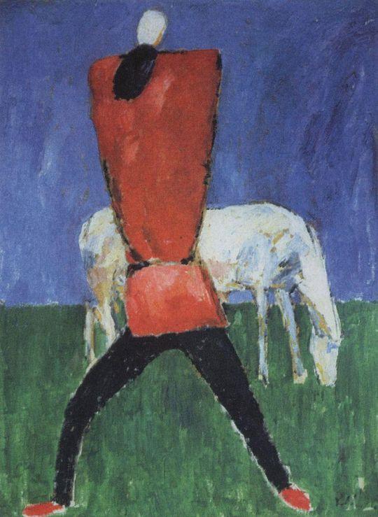 Человек с лошадью