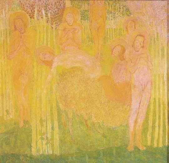 Эскиз фресковой живописи
