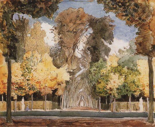 Версальский парк осенью