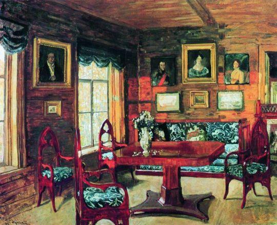 Былое. Комната старого дома