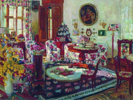 Малая гостиная в имении Брасово