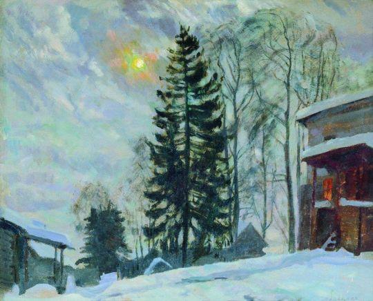 Усадьба зимой