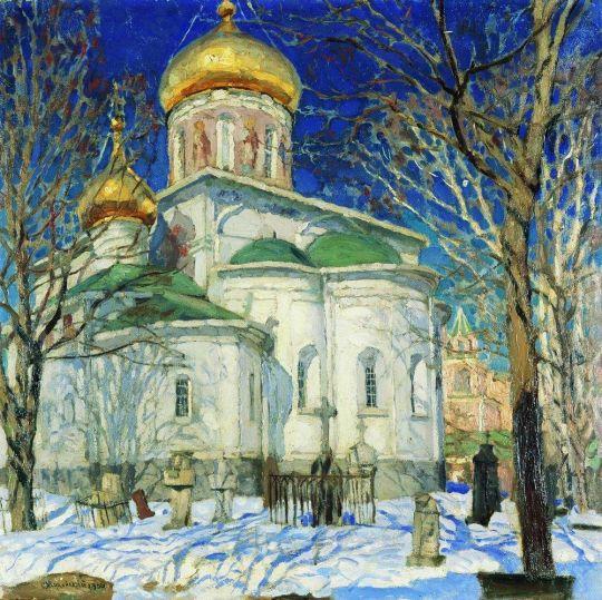 Храм Рождества Богородицы. Звенигород