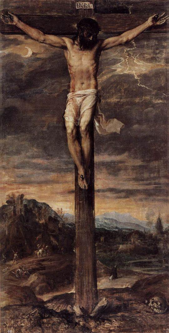 Распятие на кресте