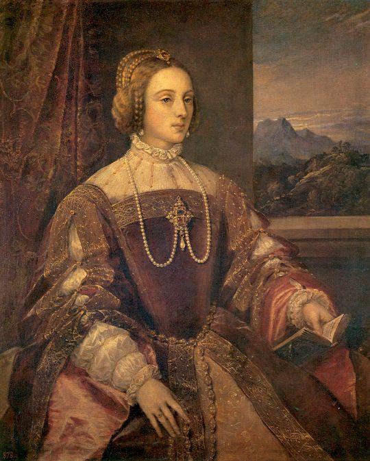 Портрет императрицы Изабеллы