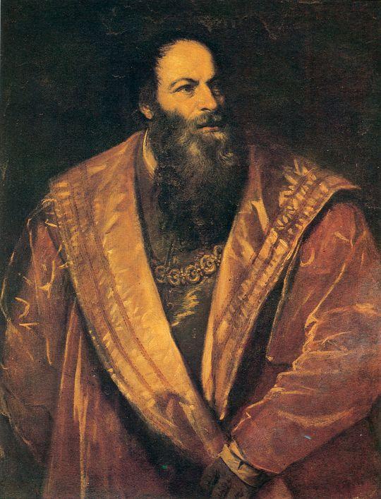 Портрет Пьетро Аретино