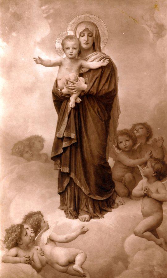 Богоматерь среди ангелов