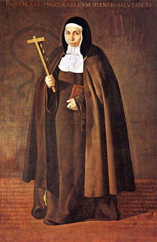 Аббесс Жеронима де ла Фюент