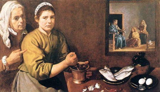 Христос в доме Марии и Марты