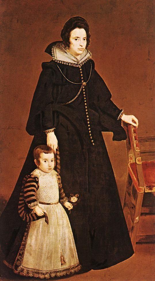 Дона Антония де Ипянаррета и ее Сын Луис